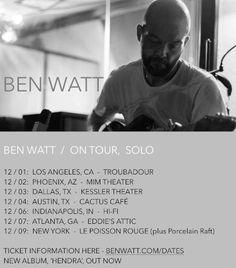 Ben Watt to release 'Golden Ratio' remix EP; US tour dates