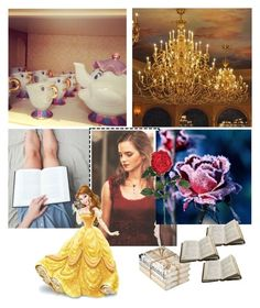 """""""Belle🌹"""" by gema-z ❤ liked on Polyvore featuring art"""