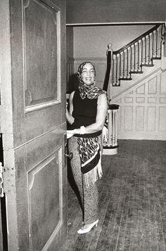 Edith Bouvier Beale at Grey Gardens in East Hampton, New York - September 1, 1972