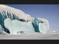Fascinantes fenómenos provocados por el hielo y la nieve