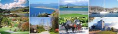 Montage of scenery from Killarney