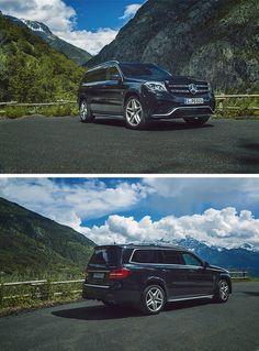 More power: the Mercedes-AMG GLS 63 4MATIC. Photo by Patrick Paparella (www.paparella.de) for #MBsocialcar [Mercedes-AMG GLS 63 4mATIC | Fuel consumption combined: 12.3 l/100km | combined CO₂ emissions: 288 g/km | http://mb4.me/efficiency_statement]