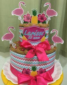 Créditos: @cakesdathata Ideias Criativas para Festa Flamingo