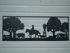Hey, I found this really awesome Etsy listing at https://www.etsy.com/listing/188091534/country-life-metal-wall-hanging