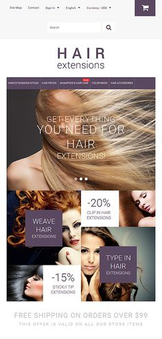 Design Needs Time... Beauty website inspirations at your coffee break? Browse for more PrestaShop #templates! // Regular price: $139 // Sources available: .PSD, .PHP, .TPL #Beauty #PrestaShop #shop #store #shopping #cart #products #categories #accessories #care #hair #clip #weave #extensions #bonded #magento