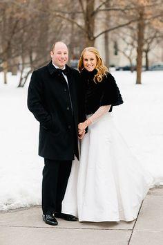 Bride and Groom Outdoor Portrait | Brides.com