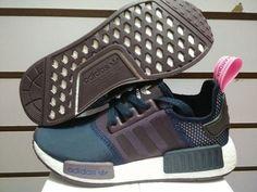 Adidas Womens NMD Runner Prim Blue Purple White - NMD Runner