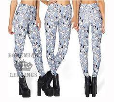 101 Dalmatian Toasties Leggings Disney Inspired Outfits, Disney Outfits, Halloween Leggings, 101 Dalmatians, Curvy Plus Size, Workout Leggings, Leggings Fashion, Bohemian Style, Harem Pants