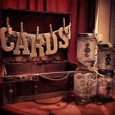 DIY rustic glam Wedding ~