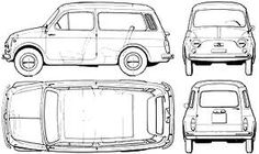 fiat 500 giardiniera Fiat 500 Accessories, 4x4, Nissan 370z, Car Sketch, Audi A5, Lamborghini Gallardo, Car Painting, Mercedes Benz, Drag Racing