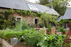 Shabby & Charme: La Maison des Lamour in Bretagna