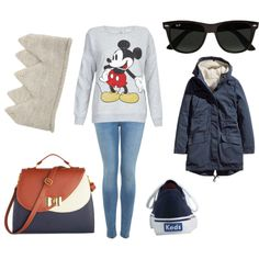 """""""""""Mickey Mouse is, to me, a symbol of independence. He was a means to an end."""" -Walt Disney"""" by lena1612 on Polyvore"""