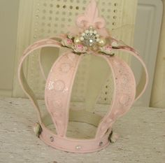 Shabby Pink Crown   Flickr - Photo Sharing!