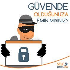 Güvende olduğunuza emin misiniz? Are you sure that you're in good hands? #ssl #web #hosting #domain #server #sunucu #SelfServisWeb