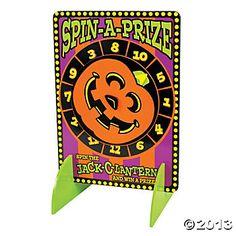 halloween carnival games | Halloween Spinner Game - Oriental Trading