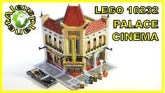 Lego Cinema Palace Build Review. Lego 10232.