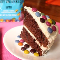 UNREAL Candy - Your favorite Candy Unjunked is the perfect alternative to sprinkles and toppings that are loaded with artificial colors and flavors. Shown here on our fav chocolate cake recipe by Alice Waters in The Art of Simple Food. Her frosting recipe from the same cookbook too.