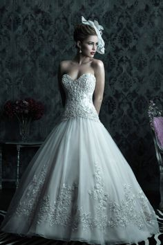 Allure Couture Fall 2012 + My Dress of the Week - Belle the Magazine . The Wedding Blog For The Sophisticated Bride