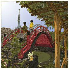 L'illustratore Shinji Tsuchimochi e le sue 100 incredibili vedute di Tokyo | AnimeClick