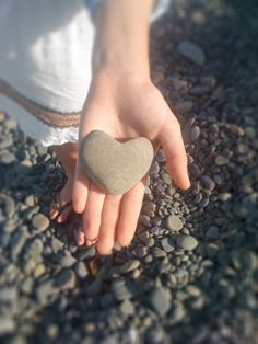 """heart shaped stone by Alessandra Zecchini."" I luv it! No pun intended! Oh My Heart, With All My Heart, Happy Heart, Heart Art, Our Love, Humble Heart, Heart Shaped Rocks, Heart In Nature, Love Rocks"