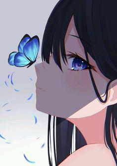 Anime Neko, Kawaii Anime Girl, Manga Anime Girl, Cool Anime Girl, Pretty Anime Girl, Cute Anime Pics, Anime Drawings Sketches, Anime Eyes, Anime Girls