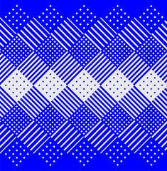 Weststroy by Denis Bashev, via Behance pattern design