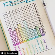 Loving this Level 10 life spread #repost from @breeeberry!  #bulletjournal #bulletjournaljunkies #bujo