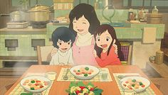 Wolf Children, I absolutely LOVE this movie, definitely my favorite ever