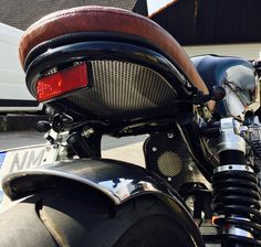 Bikes Shared by Motorcycle Fairings - Motocc Cafe Racer Parts, Cafe Racer Seat, Yamaha Cafe Racer, Cafe Bike, Cafe Racer Build, Cafe Racers, Tracker Motorcycle, Motorcycle Tank, Moto Bike