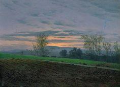 Plowed Field by Caspar David Friedrich 1830 Oil on Canvas (Kunsthalle Hamburg)