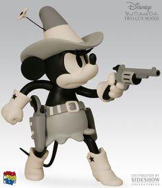Mickey e Minnie em Preto e Branco!