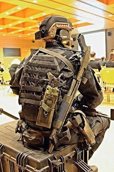 Geared up individual
