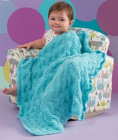 Baby Waves Blanket F