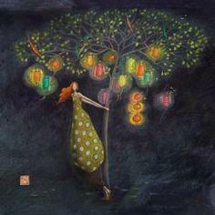 """Gaëlle Boissonnard : """"L'arbre aux lampions"""""""