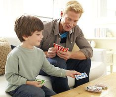 Be a Card Shark - Turn off the TV tonight, and teach your child a classic card game, such as gin rummy, hearts, or Uno. Adapt the rules for younger kids.