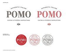Kitchen Sink Studios | Pomo Pizzeria Logo