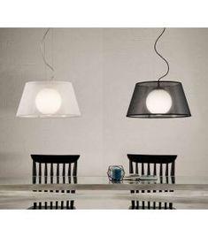 Comprar online Lámpara con pantalla de rejilla Modelo ZURICH Zurich, Lighting, Ideas, Home Decor, Model, Modern Ceiling Lights, Modern Ceiling, Contemporary Style, Hanging Lamps