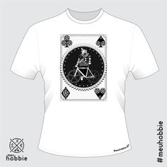 Camiseta bike fixed gear #meuhobbie