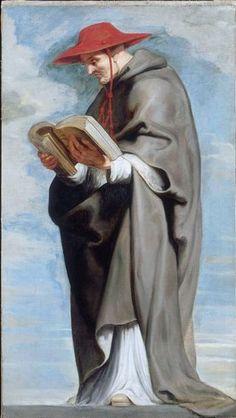 "Peter Paul Rubens 1620 ""Saint Bonaventurej"""