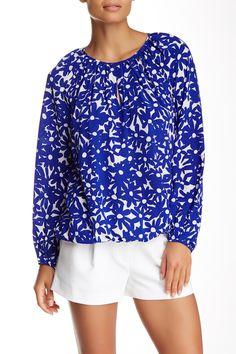 Hathaway Silk Blouse by Diane von Furstenberg on @nordstrom_rack