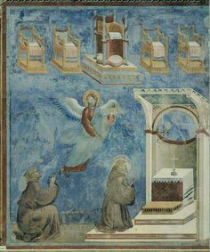 Giotto di Bondone - The vision of the (empty) thrones (1298) by petrus.agricola, via Flickr