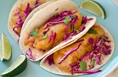 Baja Fish Tacos - Once Upon a Chef
