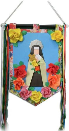 """O ORIGAMI e a FÉ"" – Santa Terezinha do Menino Jesus 