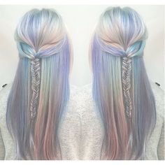 The 15 ~Craziest~ Hair Trends of 2015 ❤ liked on Polyvore featuring accessories, hair accessories and hair