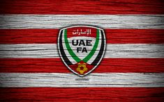 Herunterladen hintergrundbild united arab emirates national football team, 4k -, logo -, vae -, afc -, fußball -, holz-textur, fussball, vereinigte arabische emirate, asien, asiatische fußball-teams, vae fußball-verbandes