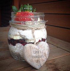 Cupid's Overnight Oats with Chia from the Love Your Body Edition of the Tone It Up Nutrition Plan.