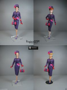 Tenue Outfit Accessoires Pour Fashion Royalty Barbie Silkstone Vintage 1384   eBay