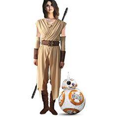 Rey-Kostüm für Damen - Star Wars VII The Force erwacht Deluxe
