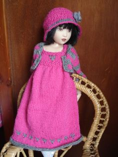 31.  English and French PDF KNITTING PATTERN 2 are by soudane, $10.00