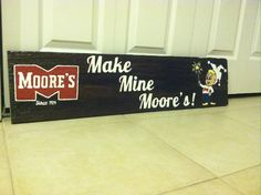 Christmas gift for my grandfather. Moore's potato chips was his family business. Since he has had 2 strokes, he suffers great memory loss, but still remembers from a long time ago!